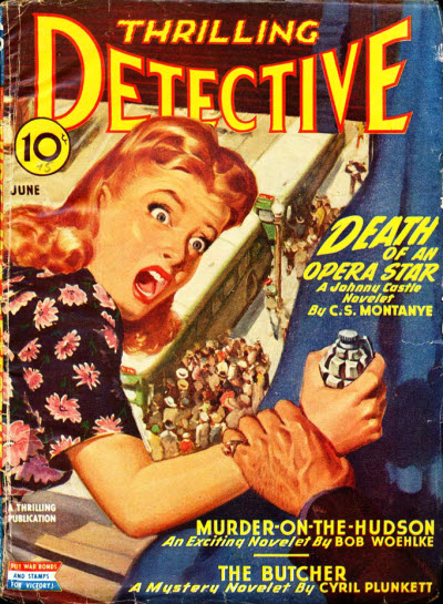 Thrilling Detective, June 1945