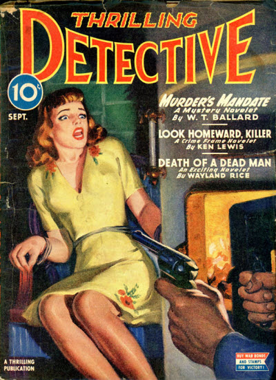 Thrilling Detective, September 1945