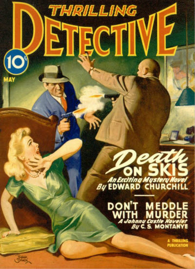 Thrilling Detective, May 1946