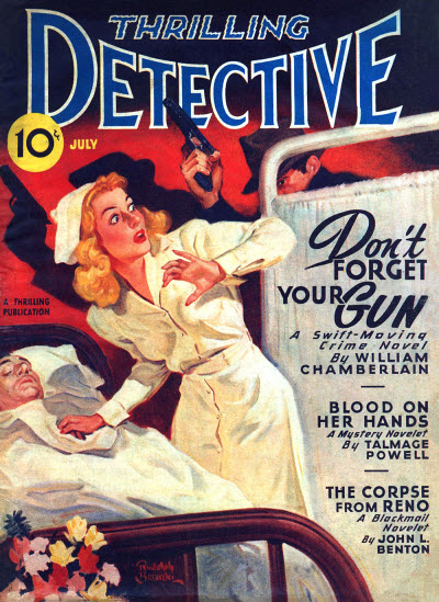 Thrilling Detective, July 1946