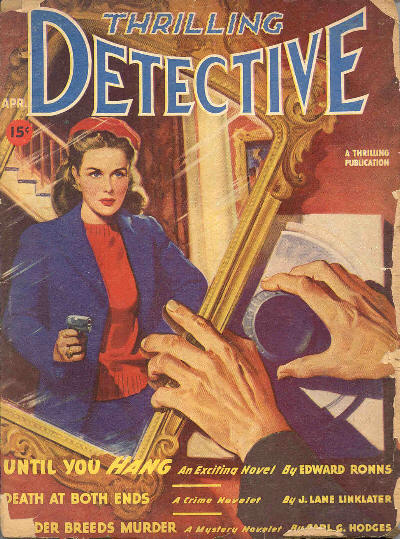 Thrilling Detective, April 1947