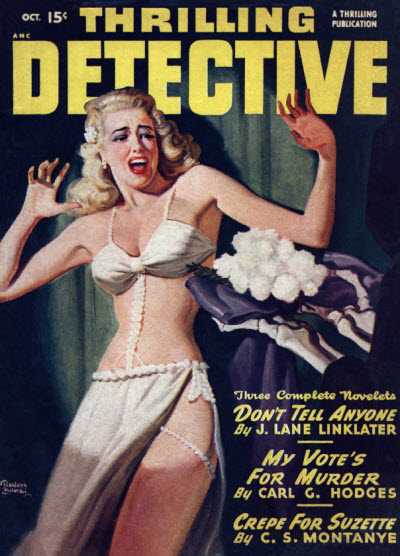 Thrilling Detective, October 1948