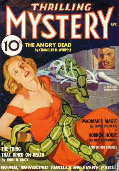 Thrilling Mystery, April 1936