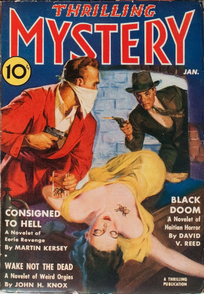 Thrilling Mystery, January 1940