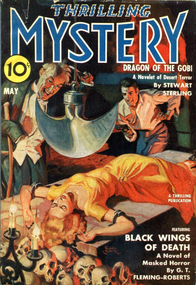 Thrilling Mystery, May 1940