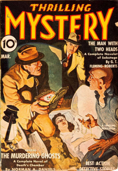 Thrilling Mystery, March 1942