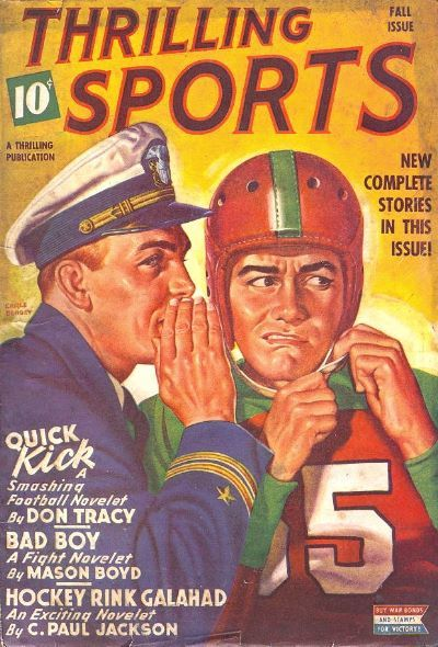 Thrilling Sports, Fall 1943