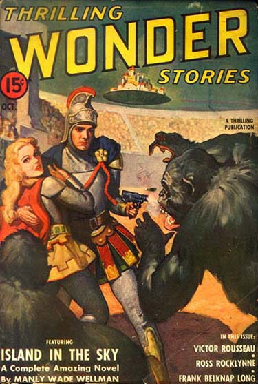 Thrilling Wonder Stories 2 Issue Lot 1937/38