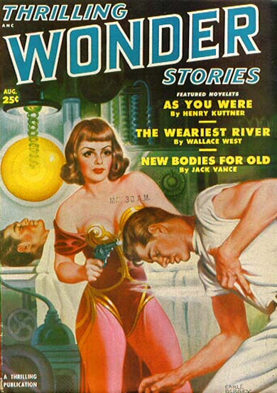 Thrilling Wonder Stories, August 1950