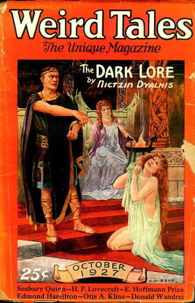 Weird Tales, October 1927