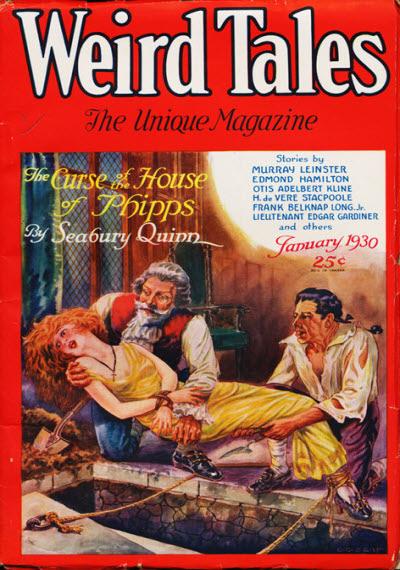 Weird Tales, January 1930