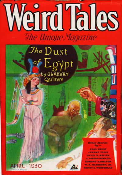Weird Tales, April 1930