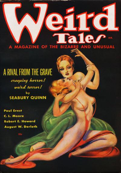 Weird Tales, January 1936