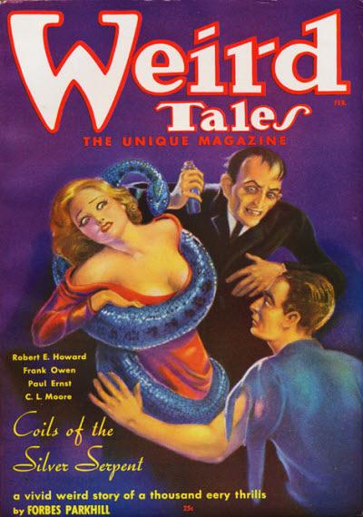 Weird Tales, February 1936