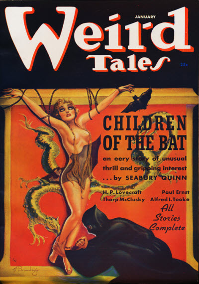 Weird Tales, January 1937