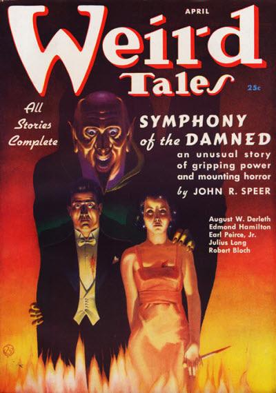 Weird Tales, April 1937
