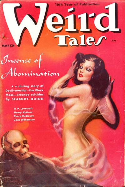 Weird Tales, March 1938