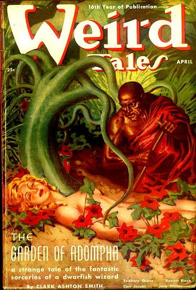 Weird Tales, April 1938