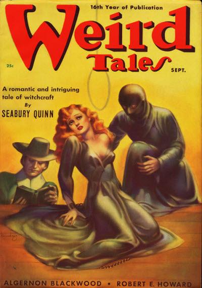 Weird Tales, September 1938