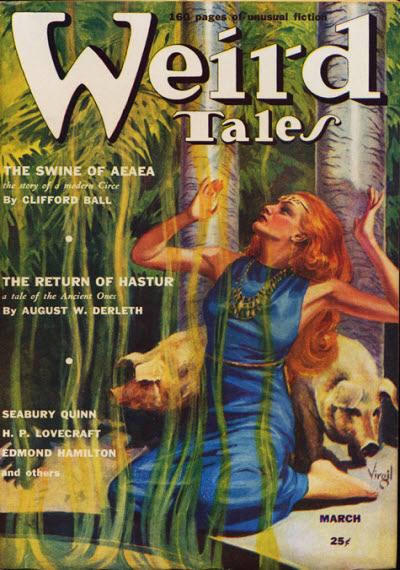 Weird Tales, March 1939