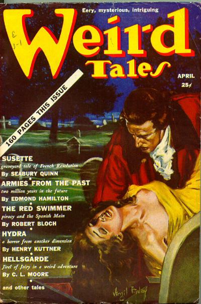 Weird Tales, April 1939
