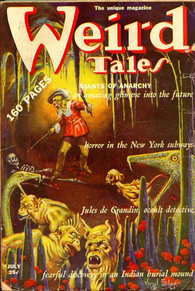 Weird Tales, June/July 1939