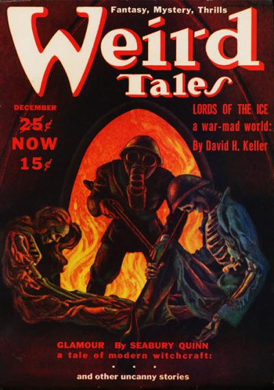 Weird Tales, December 1939