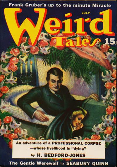 Weird Tales, July 1940