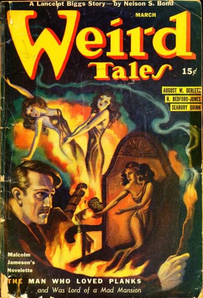 Weird Tales, March 1941