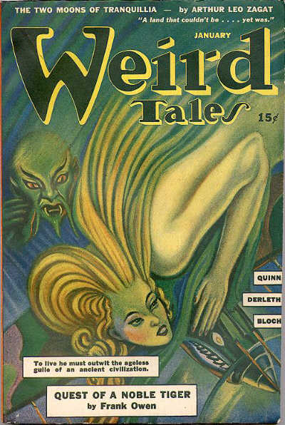 Weird Tales, January 1943