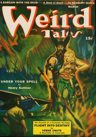 Weird Tales, March 1943