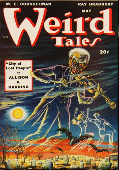 Weird Tales, May 1948