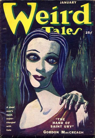 Weird Tales, January 1951