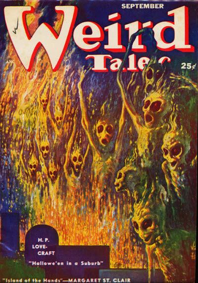 Weird Tales, September 1952
