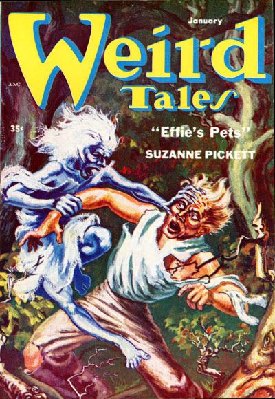 Weird Tales, January 1954