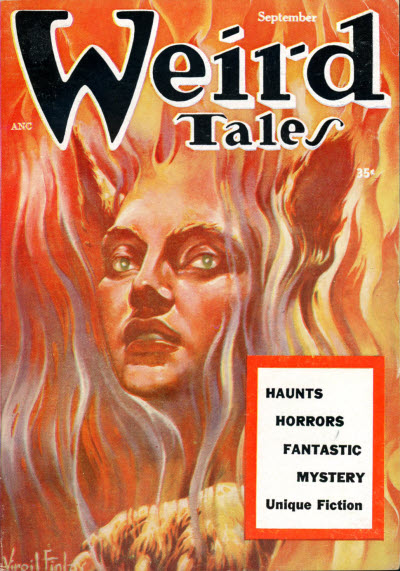 Weird Tales, September 1954