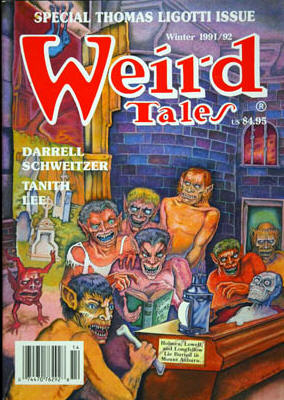 Weird Tales Spring 1990 Issue Volume 51 Number 3 Pulp Magazine