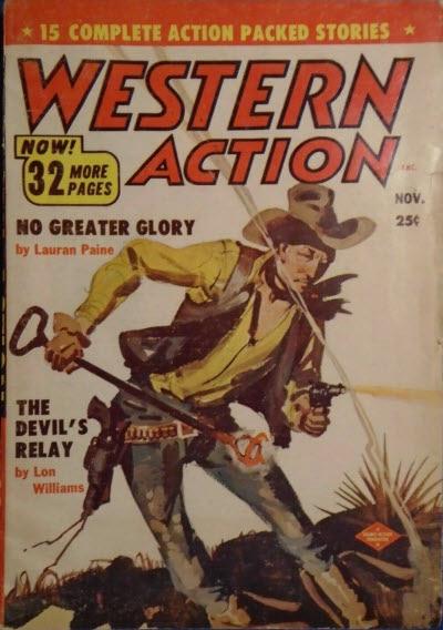 Western Action, November 1955