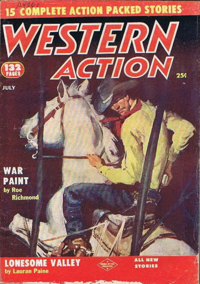 Western Action, July 1956