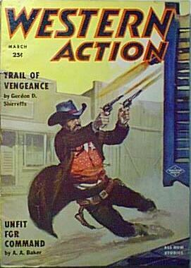 Western Action, March 1957