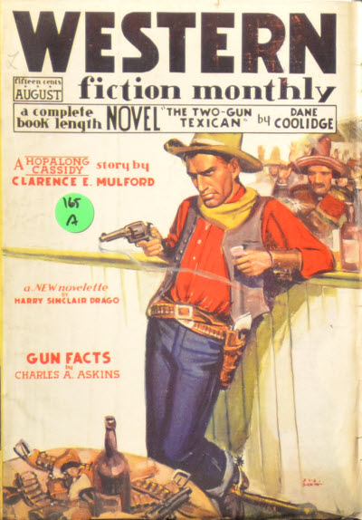 Western Fiction Monthly, August 1935