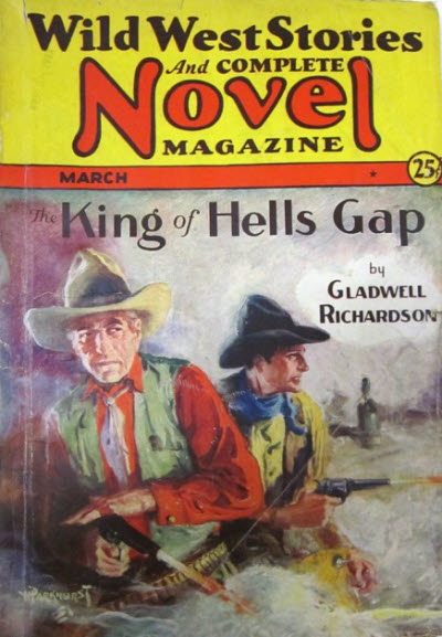Wild West Stories and Complete Novel Magazine, March 1932