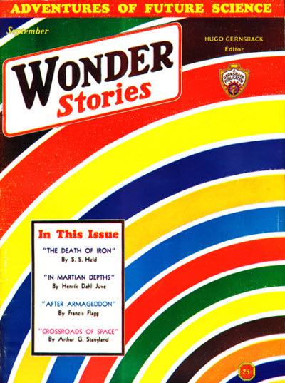 Wonder Stories, September 1932