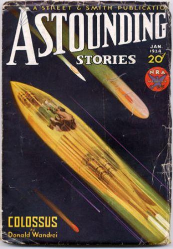Astounding Stories, January 1934