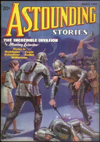 Astounding Stories, August 1936