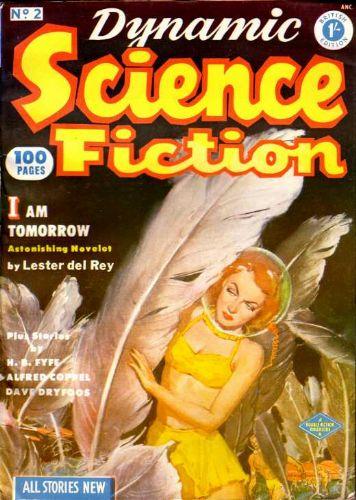 Dynamic Science Fiction, December 1952