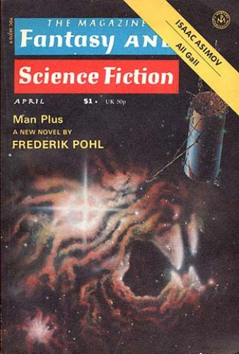 Fantasy & Science Fiction, April 1976, cover by Bonnie Dalzell and Rick Sternbach