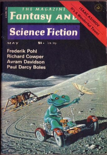 Fantasy & Science Fiction, May 1976, cover by David Hardy