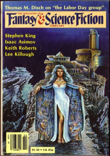 Cover of F&SF, February 1981