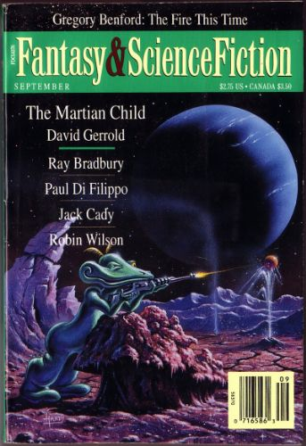 Fantasy & Science Fiction, September 1994, cover by David Hardy